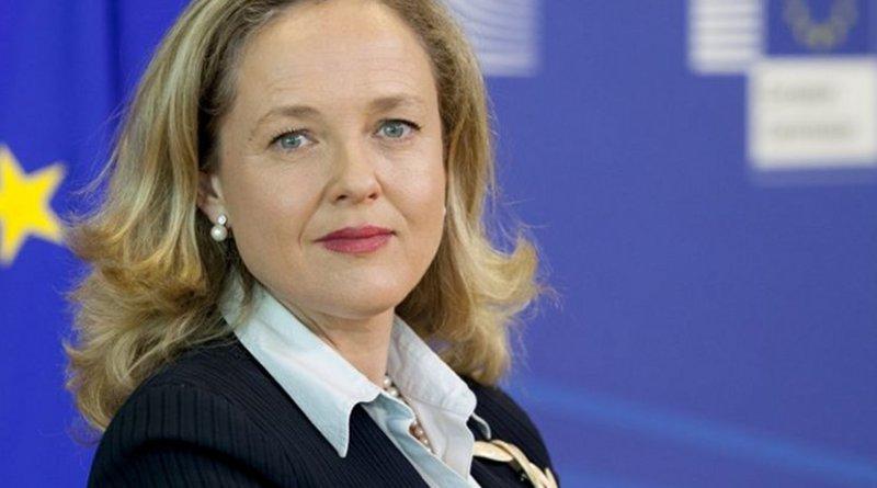 Spain's Nadia Calviño. Photo Credit: European Commission