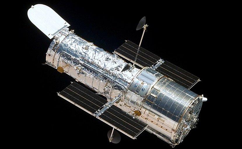 The Hubble Space Telescope in orbit. Photo Credit: NASA.