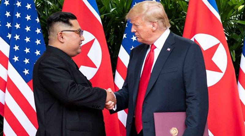President Donald J. Trump with North Korean leader Kim Jong Un | June 12, 2018 (Official White House Photo by Shealah Craighead)