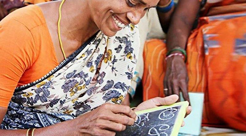 communication woman india