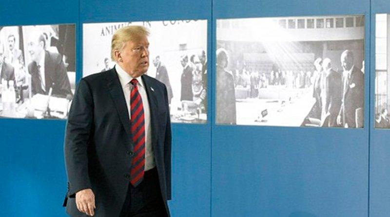 U.S. President Donald Trump. Photo Credit: NATO.
