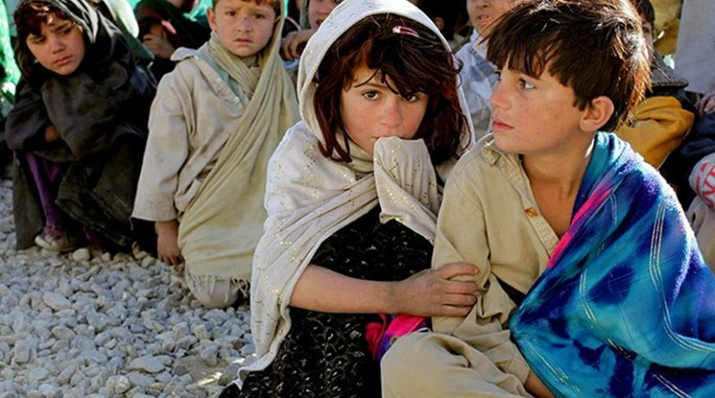 Children in Afghanistan.