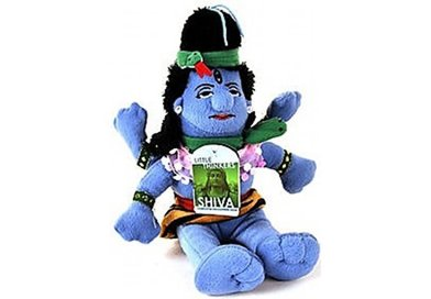 Shiva the Destroyer Plush by The Field Museum Chicago