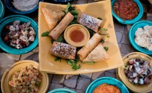Food in Morocco.