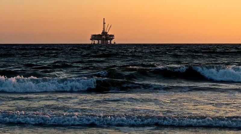 oil drilling rig platform