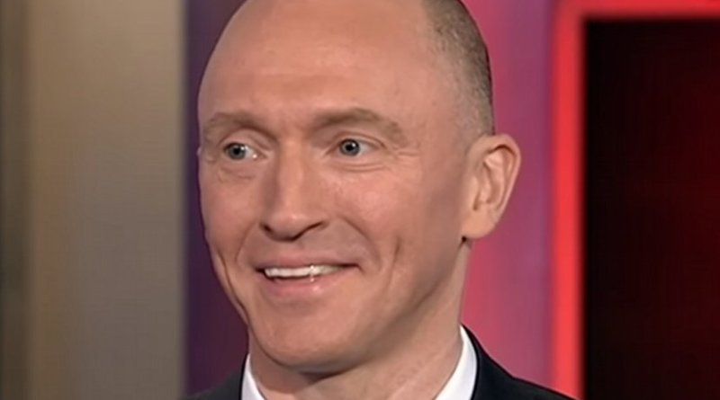 Carter Page. Photo Credit: MSNBC, YouTube, Wikimedia Commons.