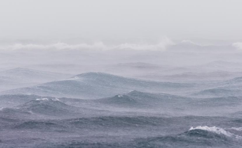 Strengthening westerly winds close to Antarctica could lead to a significant spike in atmospheric CO2 as occurred 16,000 years ago. Credit Picture: Ameen Fahmy (Unsplash.com)