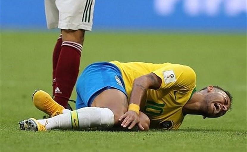 Brazil's Neymar da Silva Santos Júnior in 2018 World Cup. Photo Credit: Tasnim News Agency.