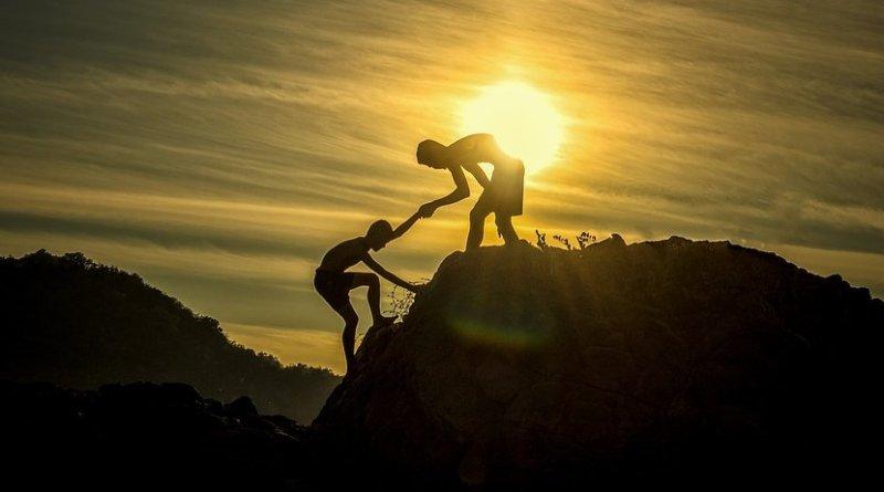 climb mountain