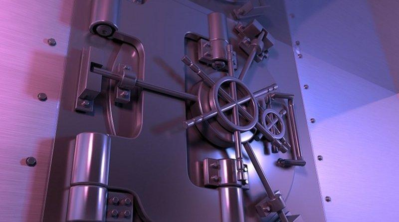 bank banking safe vault