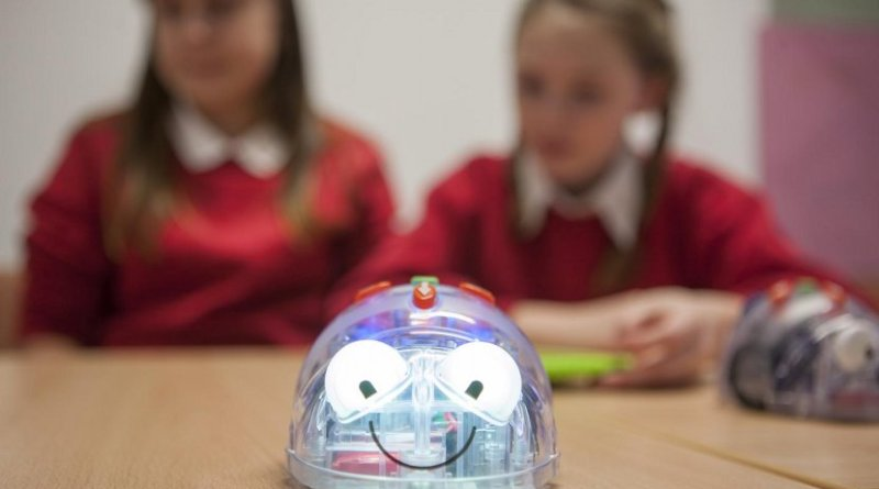 One of the robots used in the University of Plymouth's Robo21c program, which aims to complement to the school curriculum by developing teachers' skills and understanding of robotics and programming. Credit University of Plymouth