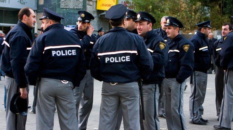 Georgian police. Photo Credit: JB, Wikipedia Commons.