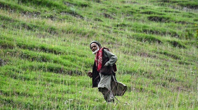 Elderly man in Pakistan.
