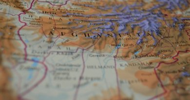 Afghanistan map location