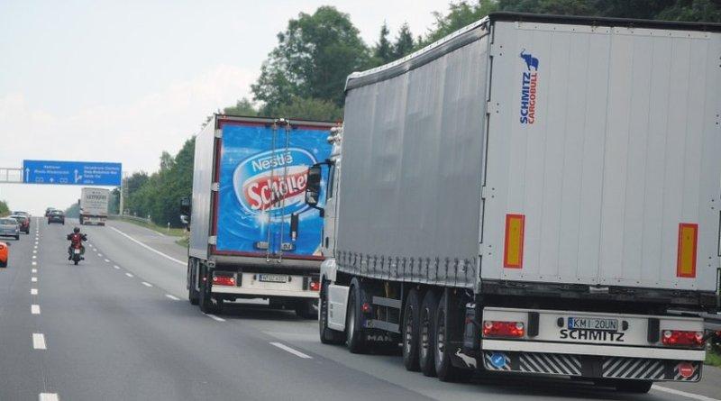 semi truck europe transportation