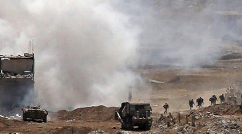 Fighting in Idlib, Syria. Photo Credit: Fars News Agency.