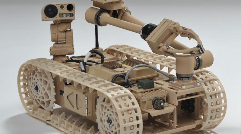 Researchers explore new techniques using the Advanced Explosive Ordnance Disposal Robotic System Increment 1 Platform. Credit (Photo Credit: Courtesy Northrop Grumman Corporation)