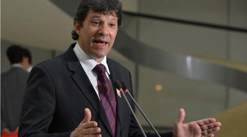 Brazil's Fernando Haddad. Photo Credit: ABr