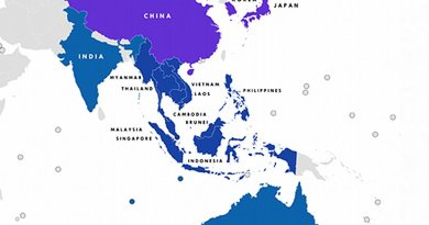 Members of Regional Comprehensive Economic Partnership (RCEP). Credit: Wikipedia Commons.