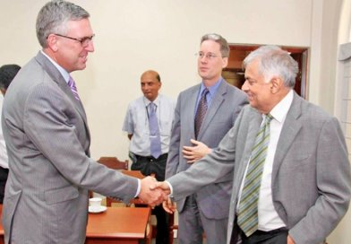 US Millennium Challenge Delegation Meets With Sri Lanka Officials. Photo Credit: Sri Lanka government