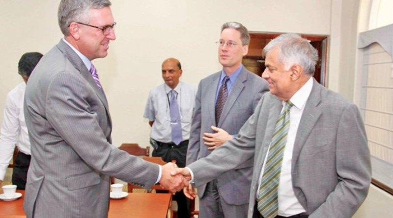 US Millennium Challenge Delegation Meets With Sri Lanka Officials. Photo Credit: Sri Lanka government