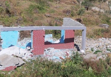 Image from Gorkha earthquake, Nepal, 2015. Strong shaking during the 2015 Gorkha earthquake destroyed over 450,000 houses and resulted in more than 8500 fatalities. 75 percent of the scenarios modeled in the study resulted in more fatalities than the 2015 event suggesting future earthquakes could be far more damaging. Credit Durham University