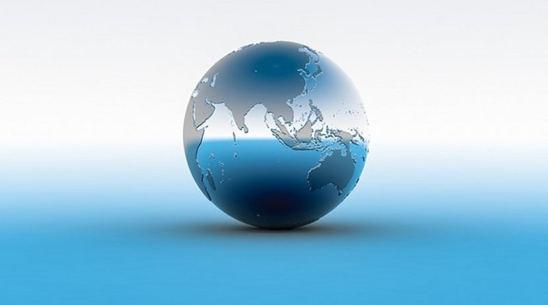 south china sea globe