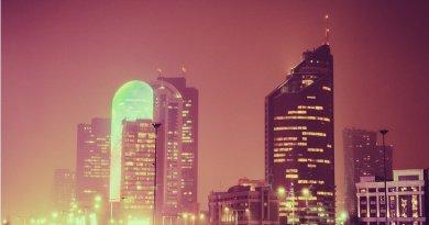 Nur-Sultan, previously called Astana, Kazakhstan