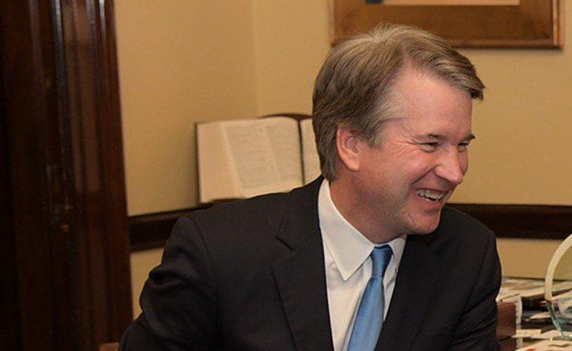 Judge Brett Kavanaugh. Photo Credit: Office of Senator Johnny Isakson, Wikimedia Commons.