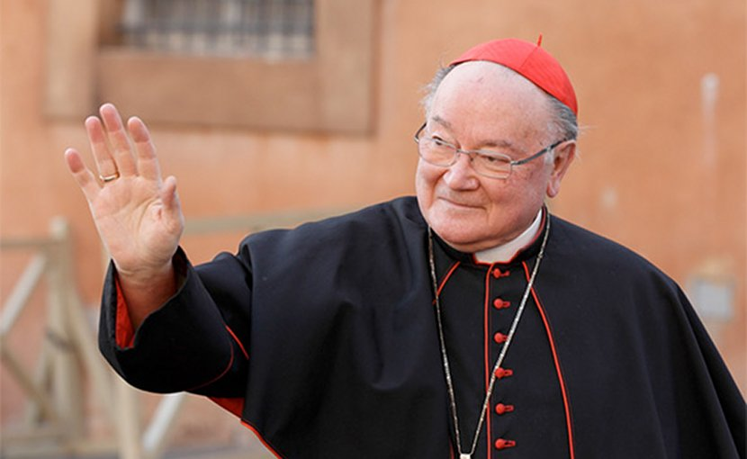 Cardinal Renato Raffaele Martino. Photo Credit: DHI
