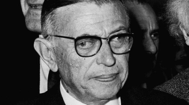 French philosopher-writer Jean Paul Sartre. Photo Credit: Moshe Milner, Wikimedia Commons.