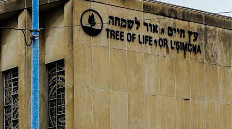 Pittsburgh synagogue, Tree of Life. Photo Credit: CTO HENRY, Wikipedia Commons.