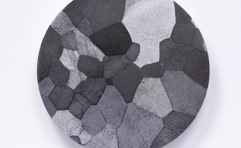 A high purity (99.95 %) Vanadium disc. Photo Credit: Alchemist-hp, Wikimedia Commons.