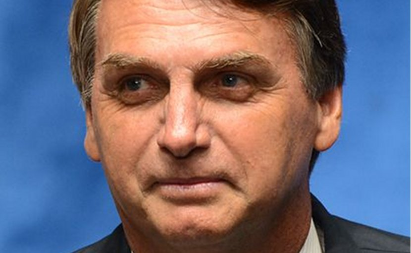 Brazil's Jair Messias Bolsonaro. Photo Credit: … Antonio Cruz/Agência Brasil, Wikipedia Commons.