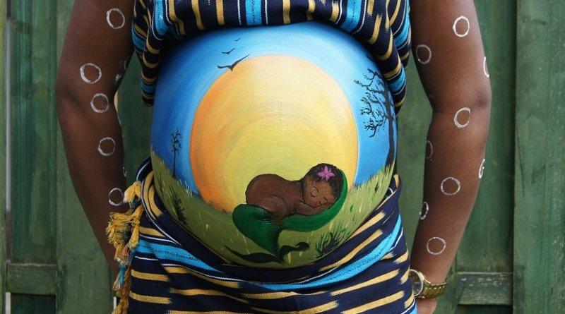 pregnant africa