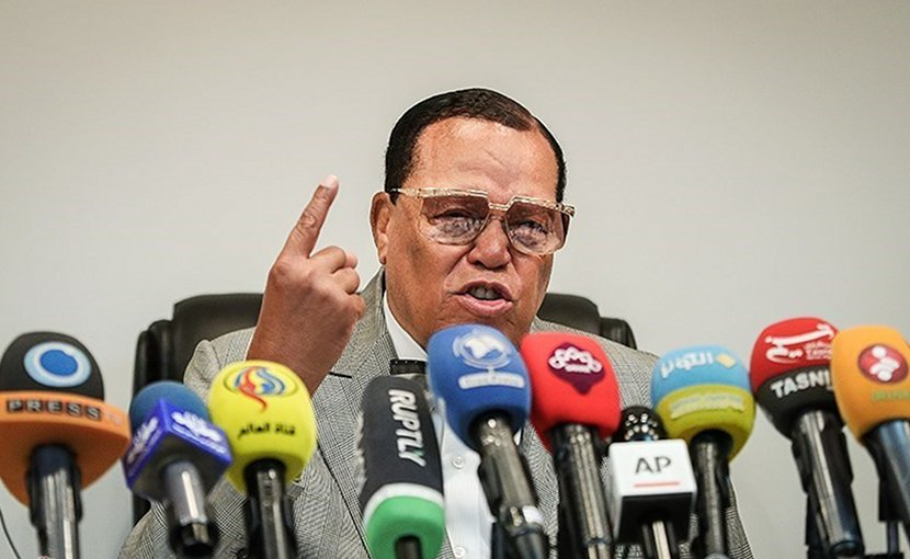 Louis Farrakhan. Photo Credit: Tasnim News Agency