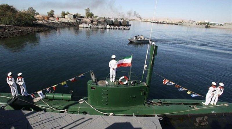 Iran Qadir-class submarine. Photo Credit: Tasnim News Agency.