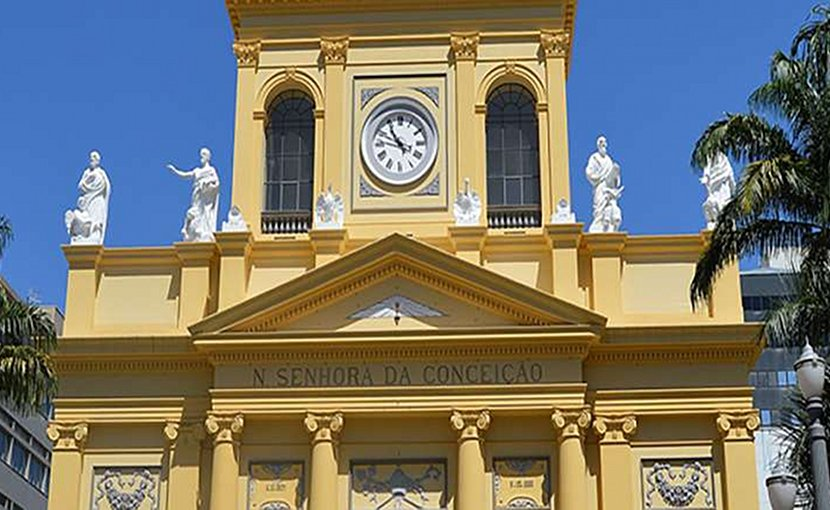 Cathedral of Our Lady of the Conception, Campinas, Brazil. Photo Credit: Leticia Cardosa, Wikimedia Commons.