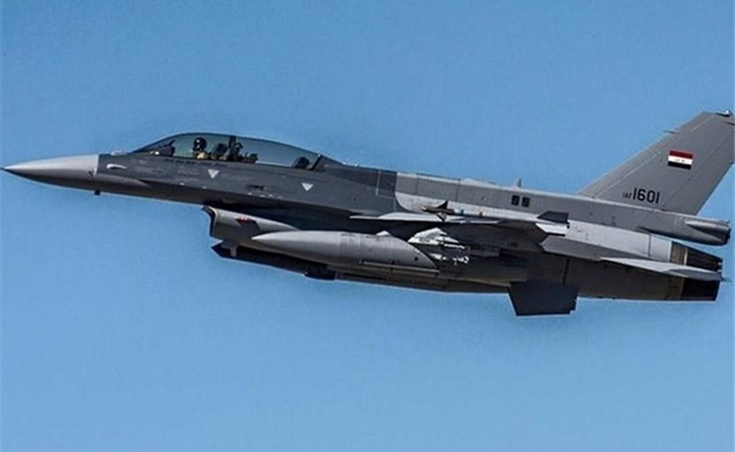 Iraq jet fighter airplane