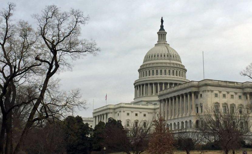 The U.S. Capitol Hill building in Washington, DC. Photo Credit: VOA/ Diaa Bekheet)