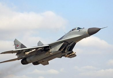 Serbian MiG-29 with pair of R-60 (AA-8 Aphid) missiles. Photo Credit: Krasimir Grozev, Wikimedia Commons.