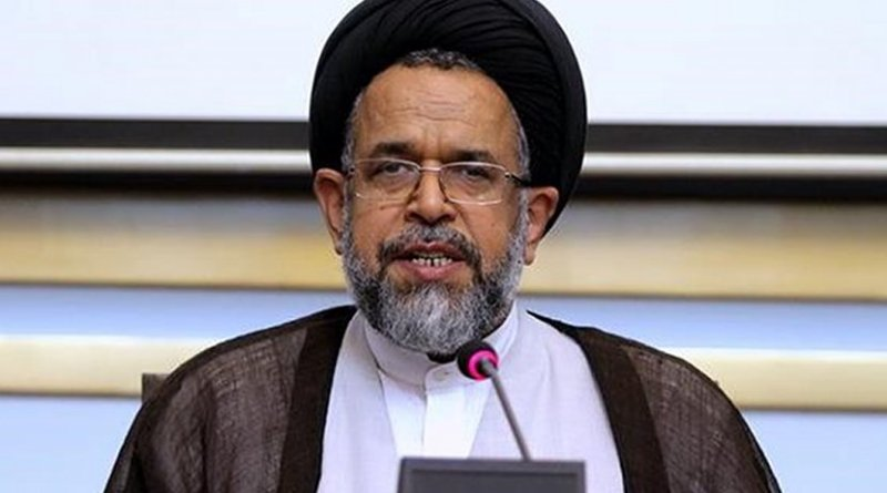 Iran's Intelligence Minister Seyed Mahmoud Alavi. Photo Credit: Fars News Agency