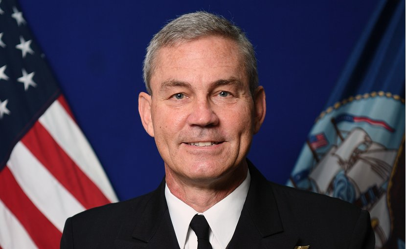 Vice Adm. Scott A. Stearney. Photo Credit: US Navy