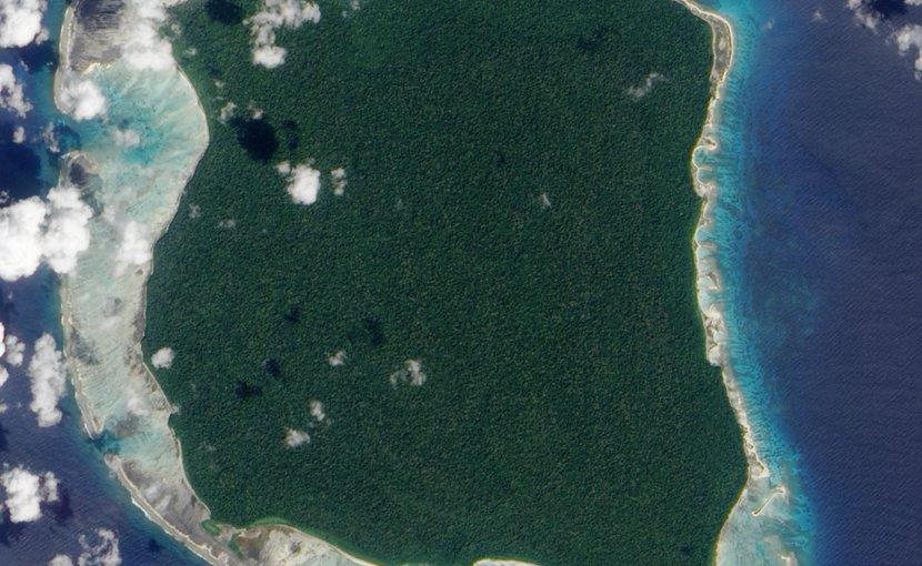 North Sentinel Island. Photo Credit: NASA