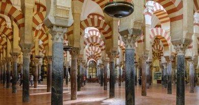 Interior of Mezquita de Córdoba, Spain