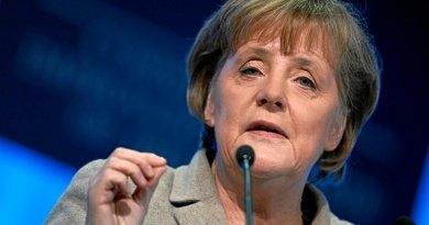 Germany's Angela Merkel. Photo Credit: World Economic Forum