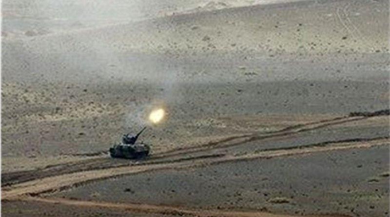 Iranian tank. Photo Credit: Tasnim News Agency