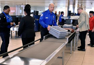 TSA workers. Photo Credit: U.S. Department of Homeland Security (DHS)