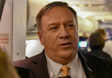 U.S. Secretary of State Michael R. Pompeo. State Department photo by Ron Pryzsucha