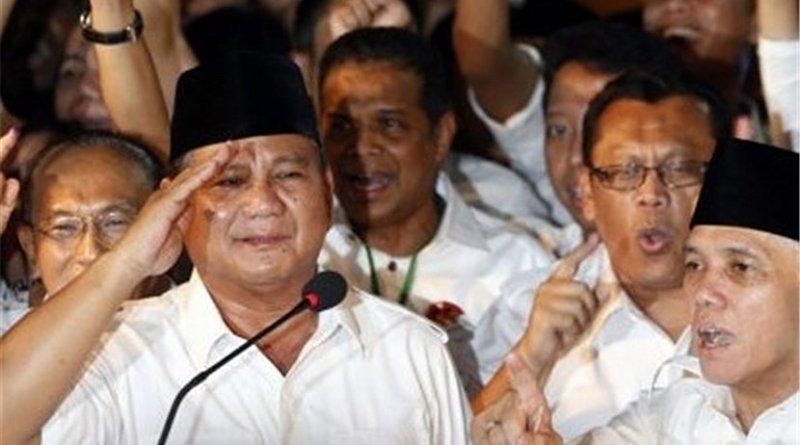 Indonesia's Prabowo Subianto. Photo Credit: Tasnim News Agency
